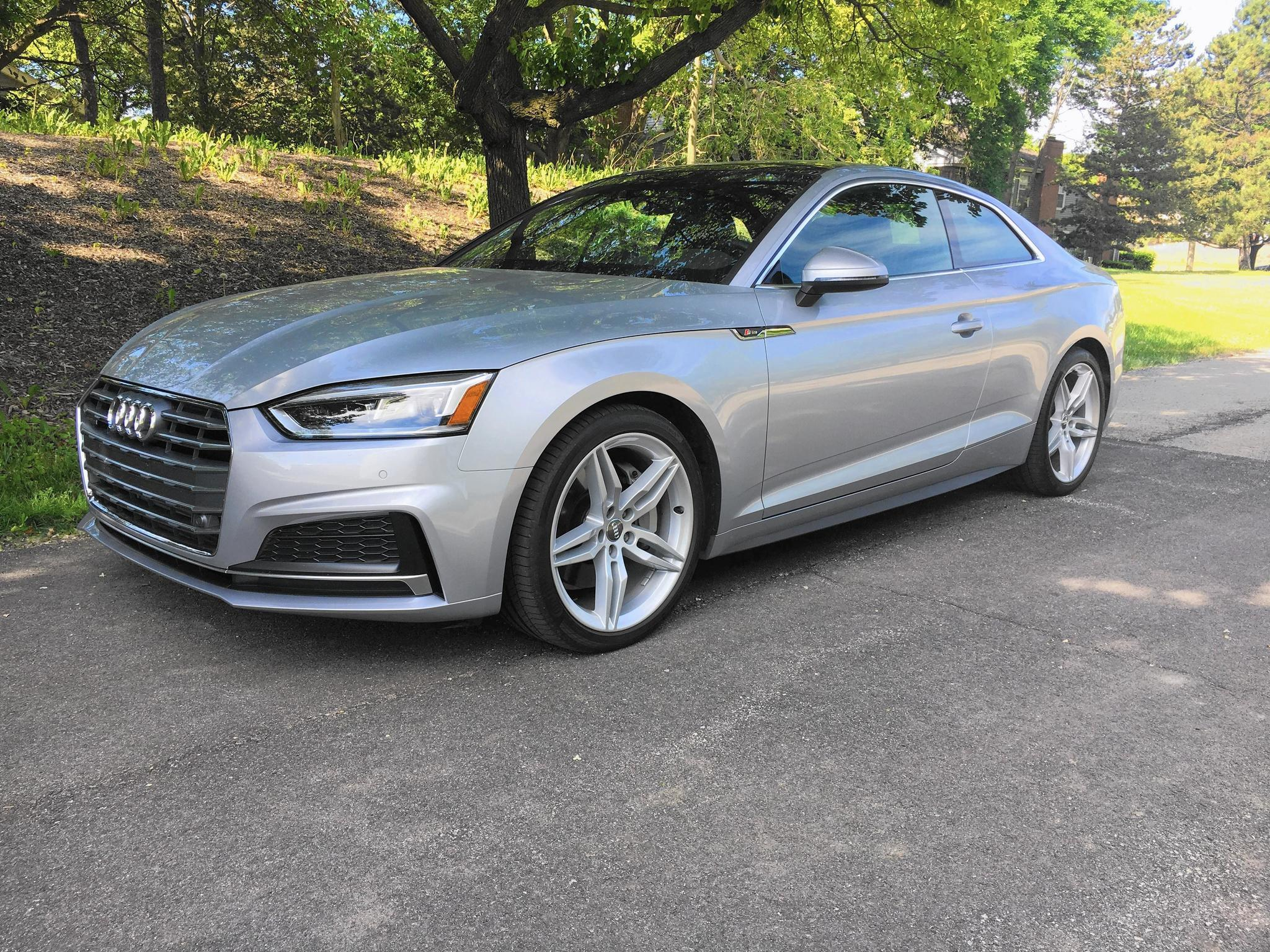 2018 audi a5 coupe is a good getaway car chicago tribune. Black Bedroom Furniture Sets. Home Design Ideas