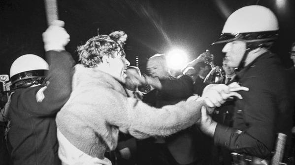 From the Archives: 1967 antiwar protest turns violent