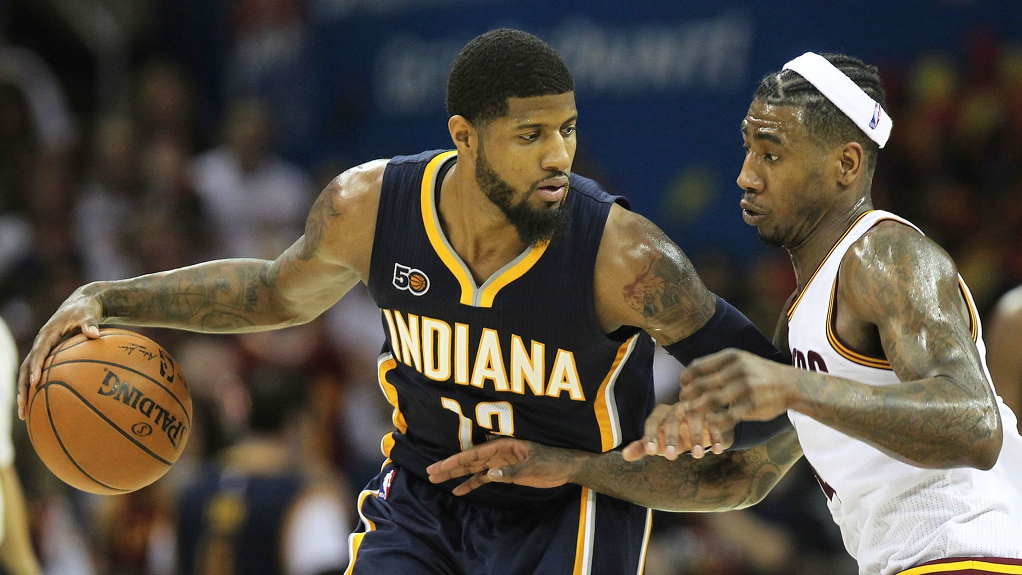 nydailynews.com Indianapolis retailer gives away its Paul George  merchandise after report he wants to leave Pacers in 2018 a436955a8307