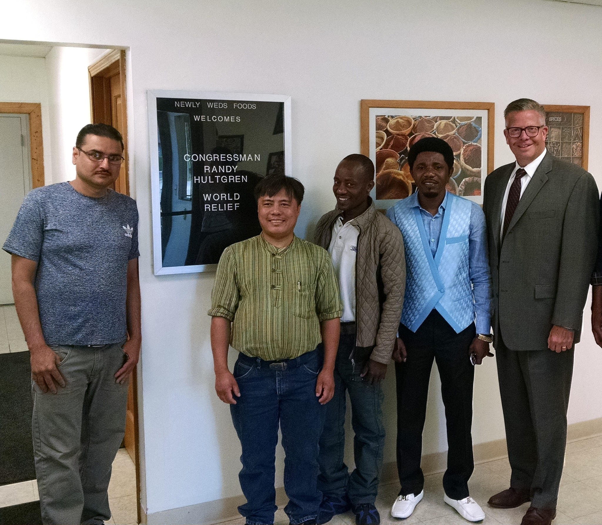 Congressman Hultgren Meets With Local Refugees To Honor World Refugee Day