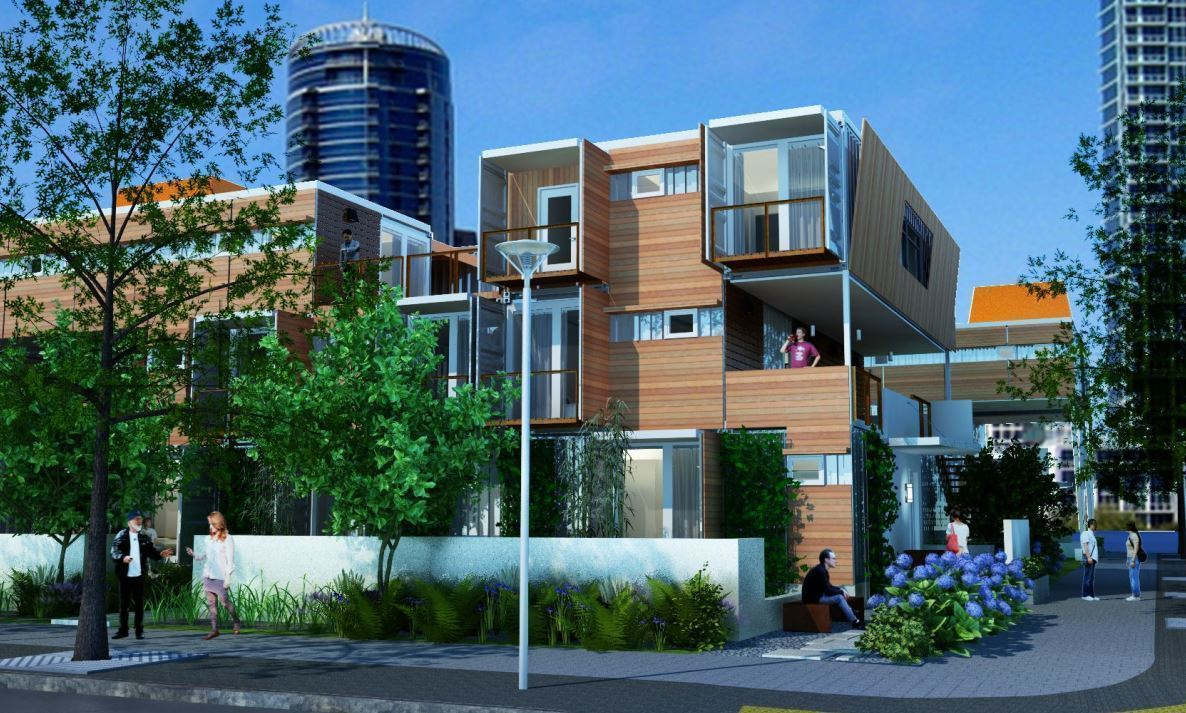 Central Florida may get apartments built using shipping containers -  Orlando Sentinel