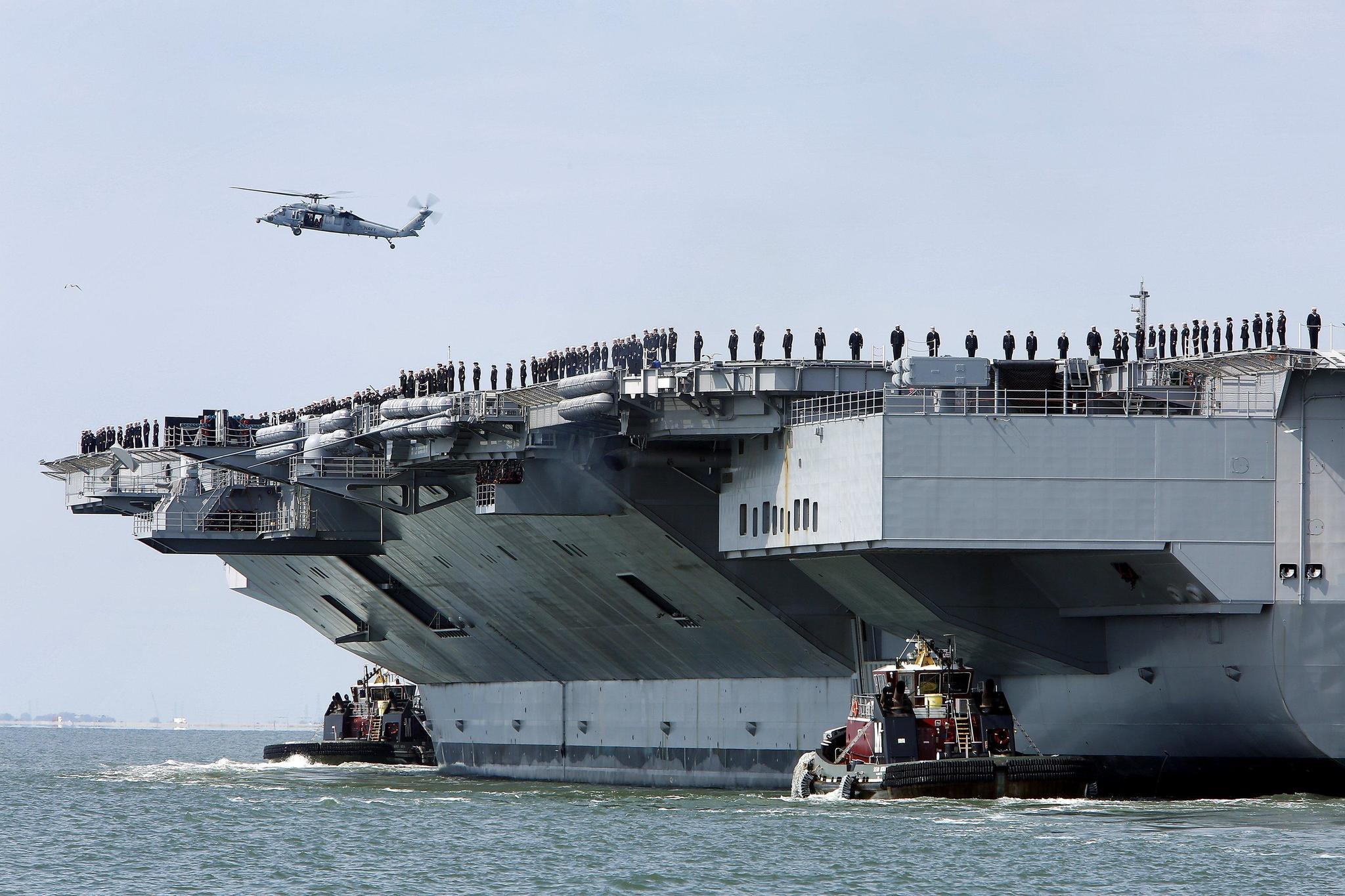 Aircraft Carrier Gerald Ford Commissioning Set For July 22