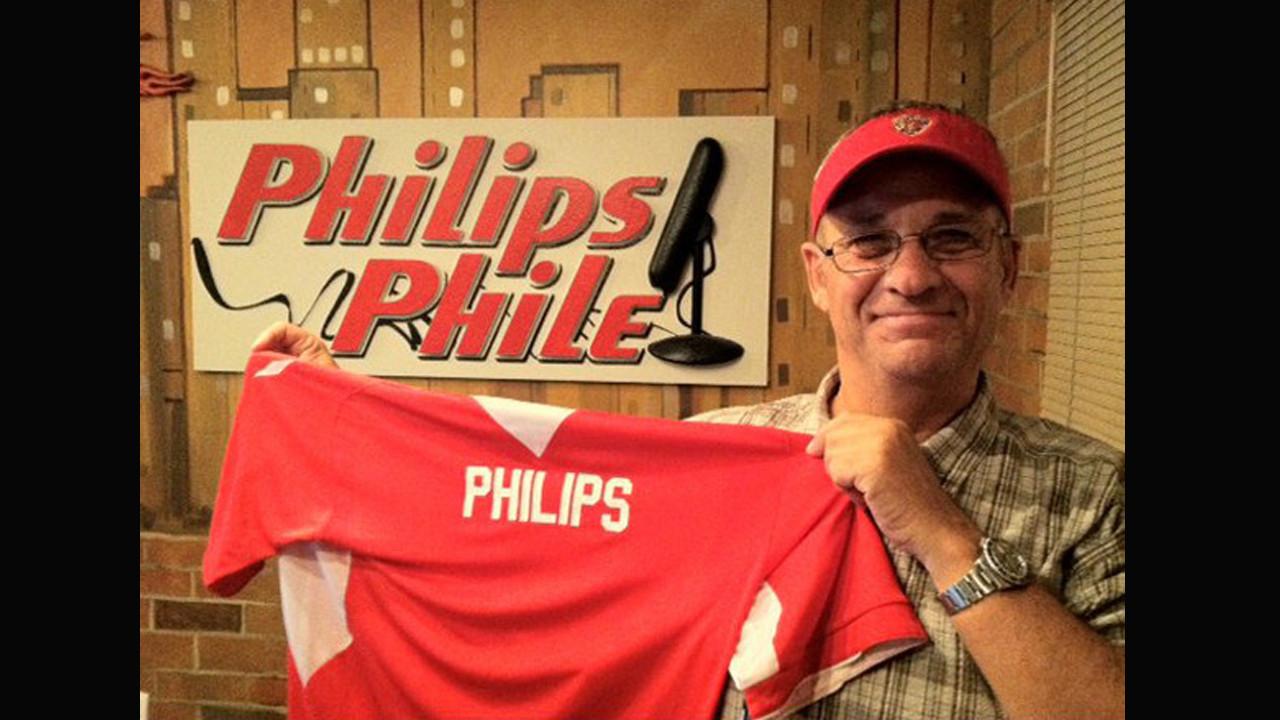 Jim Philips tells listeners he's retiring in January
