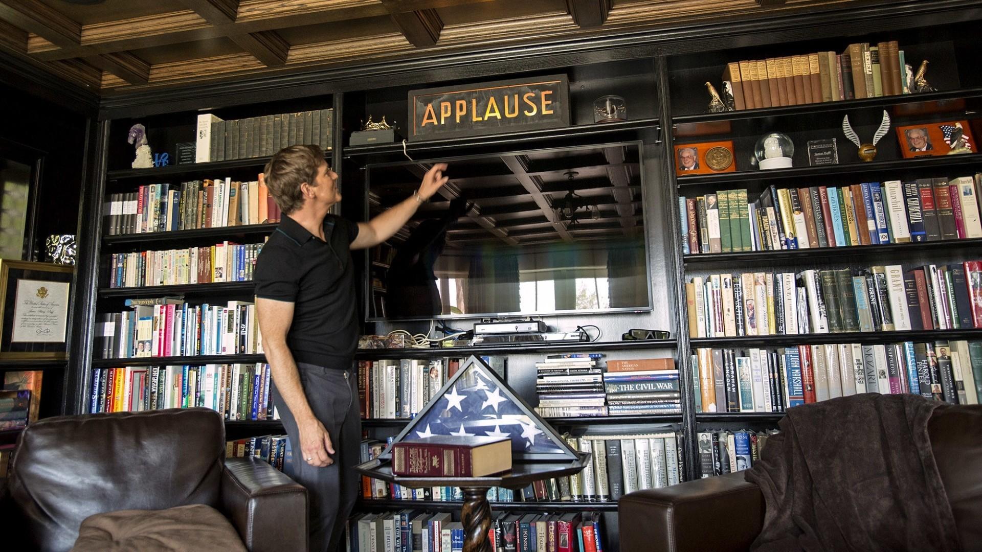 Hot Property | My Favorite Room: Phillip P. Keene of 'Major Crimes' cozies up in the den