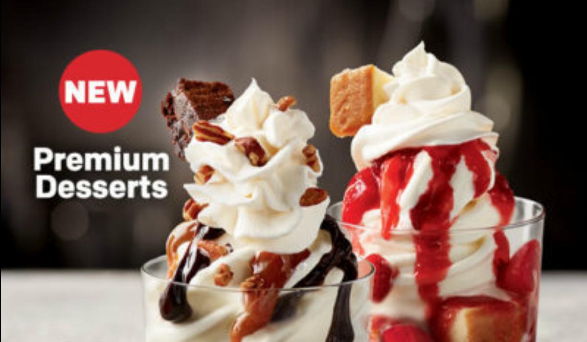 try mcdonalds new softserve dessert sundaes for free on