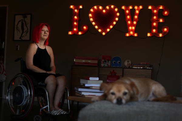 She lives with the threat of total paralysis. What do you do when darkness haunts your future?