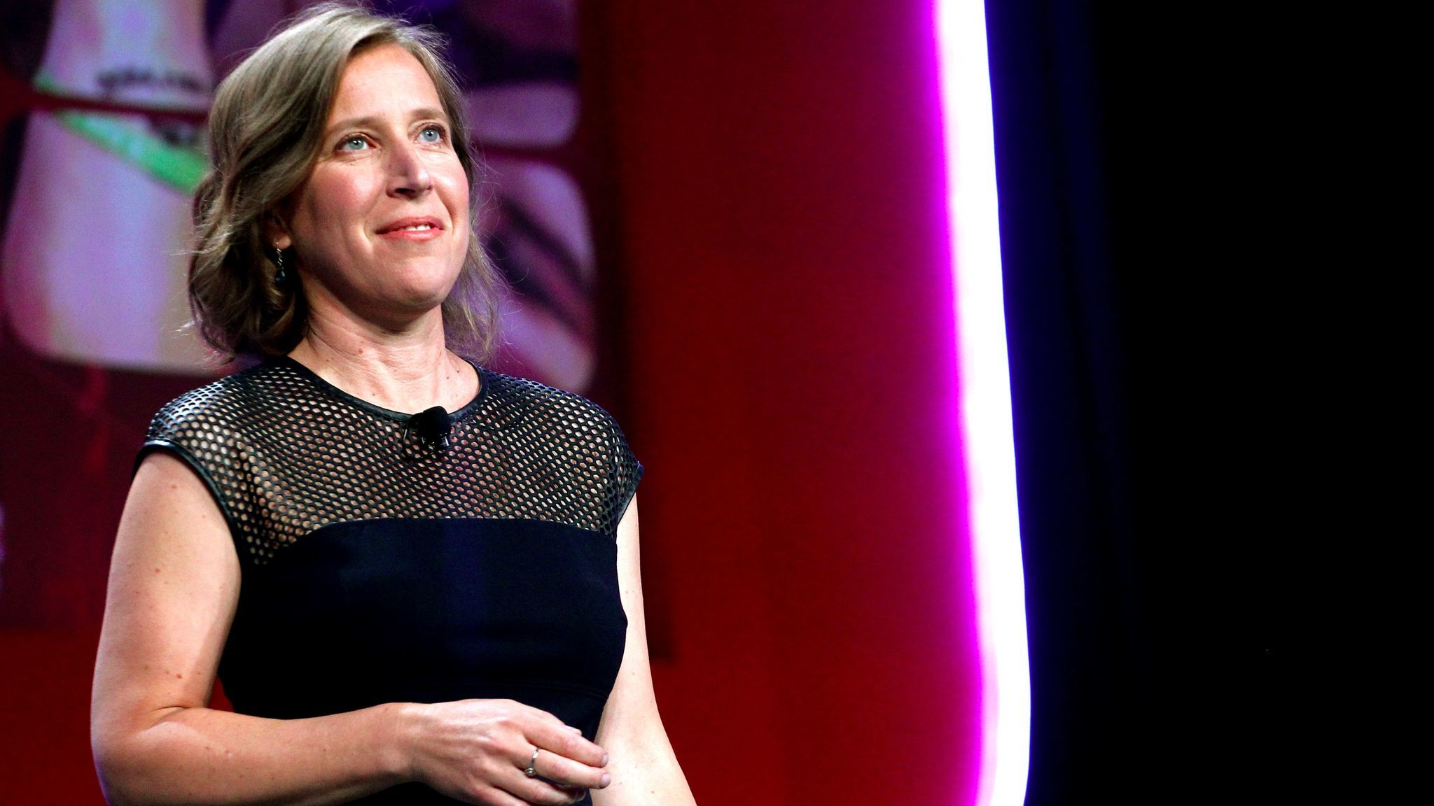 YouTube CEO Susan Wojcicki has been a vocal proponent of diversity in the tech industry. Above, she talks at Vidcon this year.