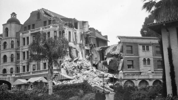 Erroneous report of 6.8 earthquake near Santa Barbara