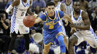 Lonzo Ball is cool and calm as he waits for the NBA draft