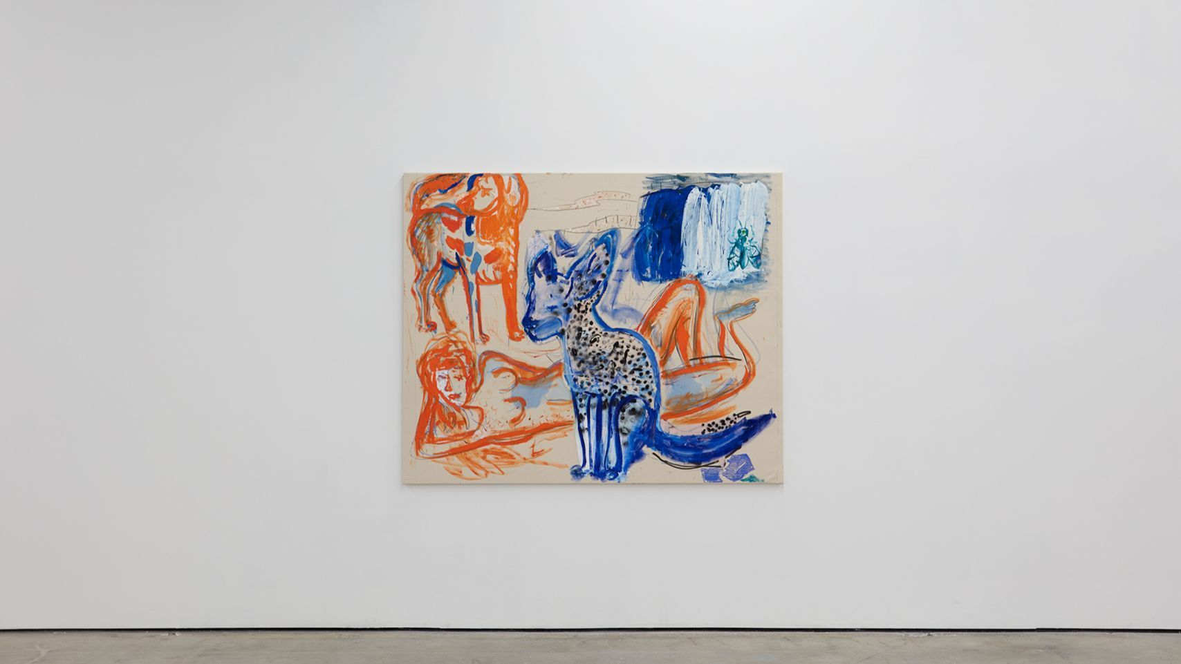 """Skills,"" 2017, by Razvan Boar, at Nicodim Gallery."