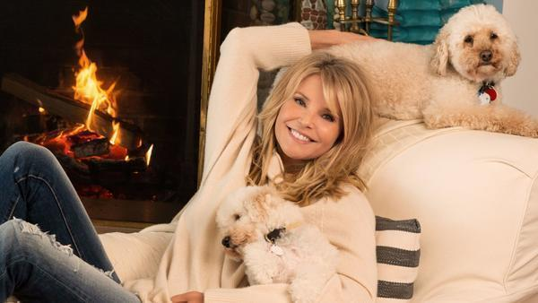 Christie Brinkley on ageism, healthy living and how a sick puppy started her career
