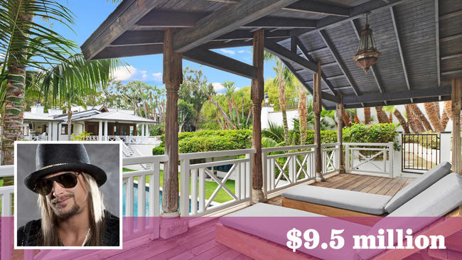 hot property sale of kid rocku0027s malibu home ends on a low note