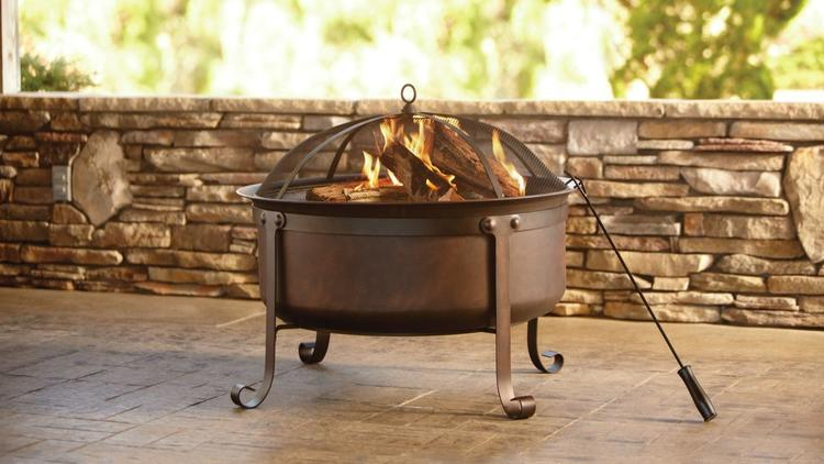 An affordable, portable fire pit can add warmth for less than $300.