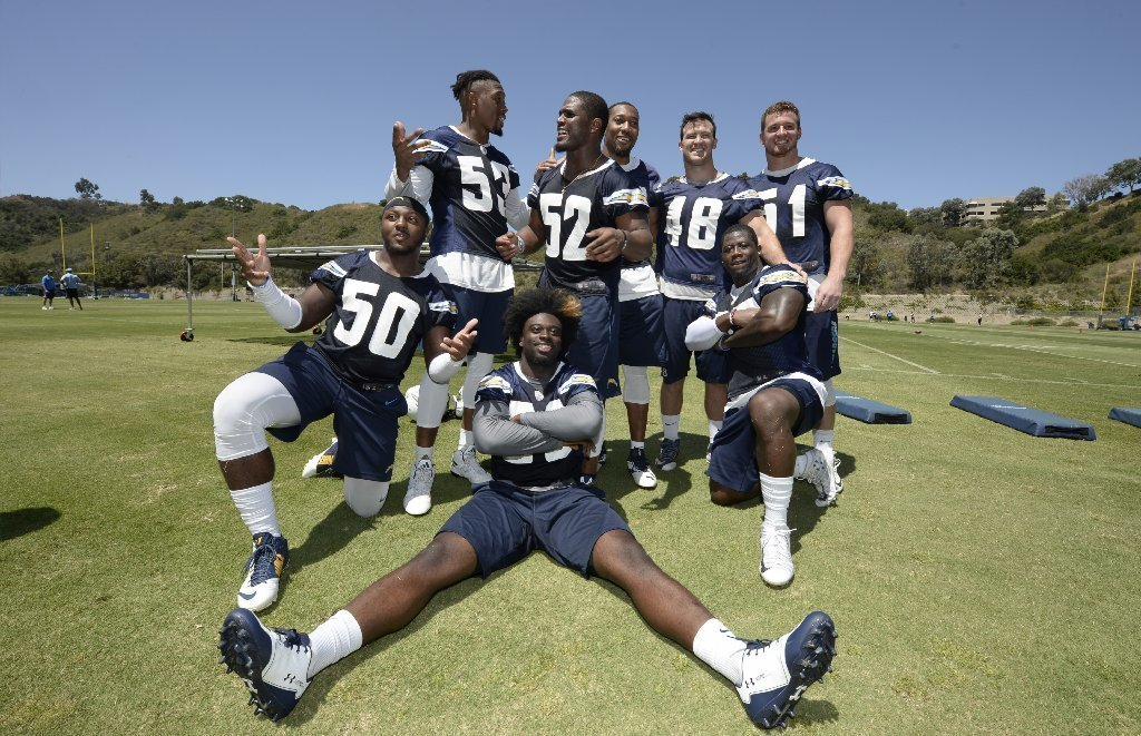 Chargers Release Training Camp Practice Schedule The San