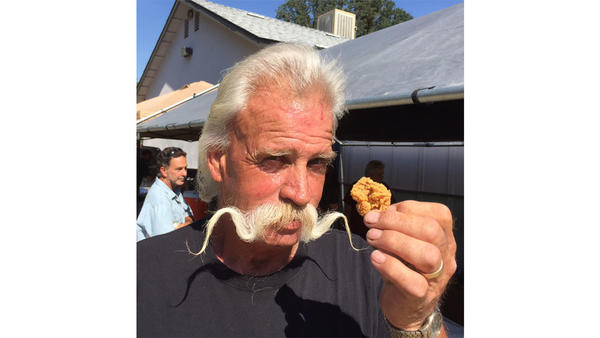 To get a little taste of Dunlap, you can't beat the Turkey Testicle Festival