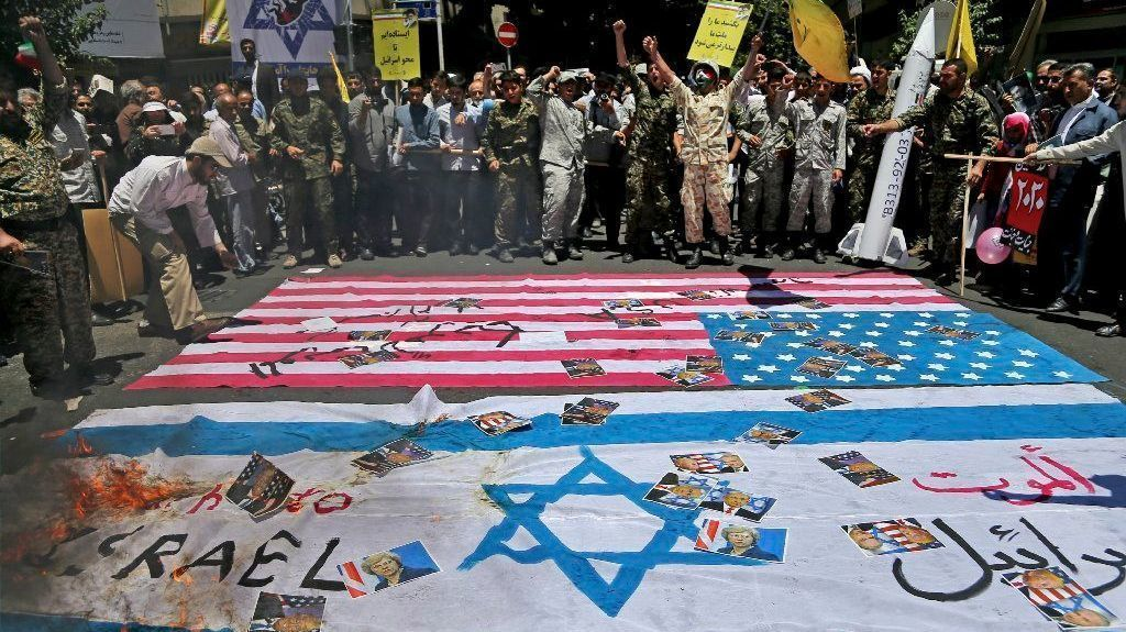 Iran's anti-Israel rallies, a tradition during Ramadan, this year include ballistic missiles