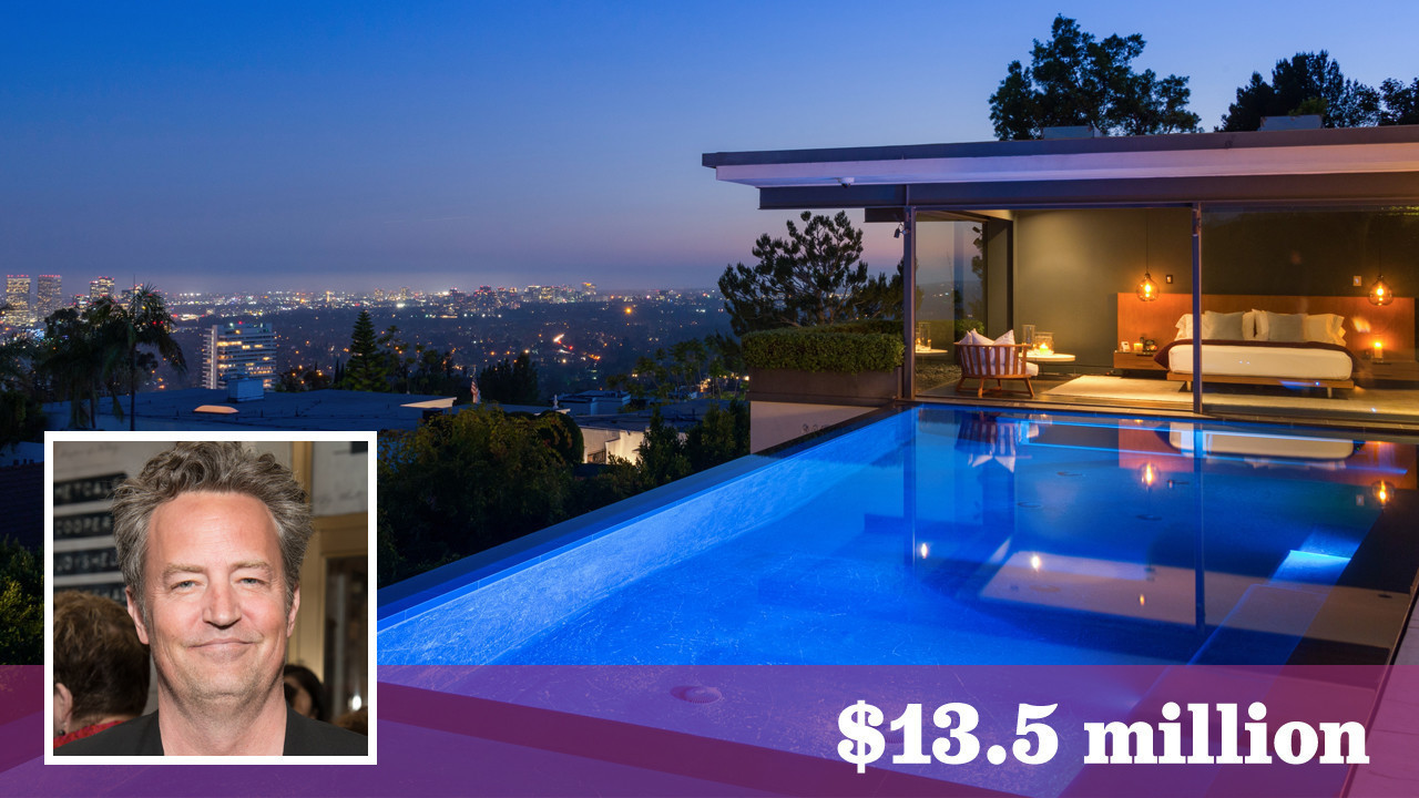 Matthew Perry puts his sexy Bird Streets pad on the market for $13.5  million - LA Times