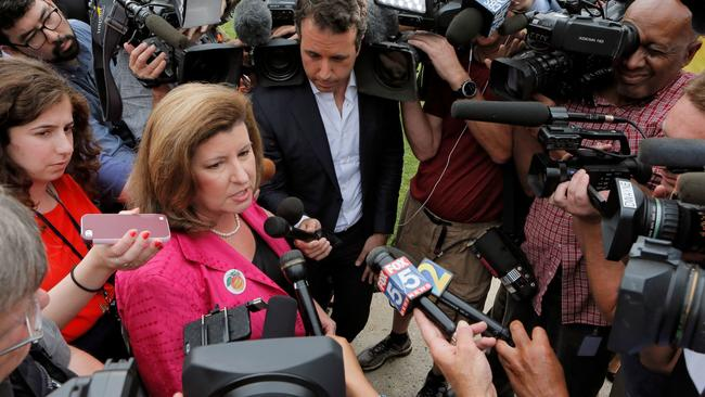 Republican Karen Handel, winner of last week's special House election in Georgia. (Bob Andres / Atlanta Journal-Constitution)