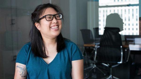 She helps people pick better software and lets her Harry Potter tattoo fly at G2 crowd