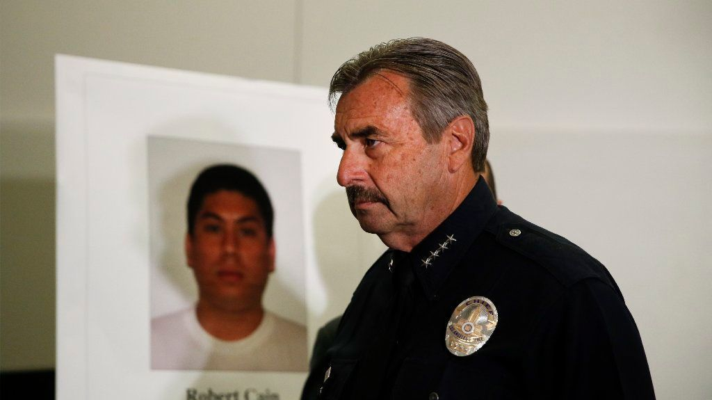 Weapons cache seized at home of LAPD officer accused of having sex with teenage cadet, sources say