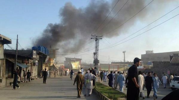 Attacks in three Pakistani cities leave at least 40 people dead, many injured