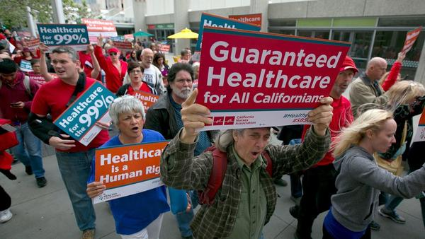 California won't be passing a single-payer healthcare system any time soon —the plan is dead for this year