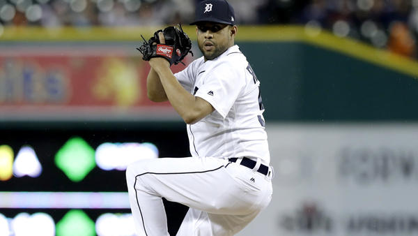 MLB: Tigers release reliever Francisco Rodriguez