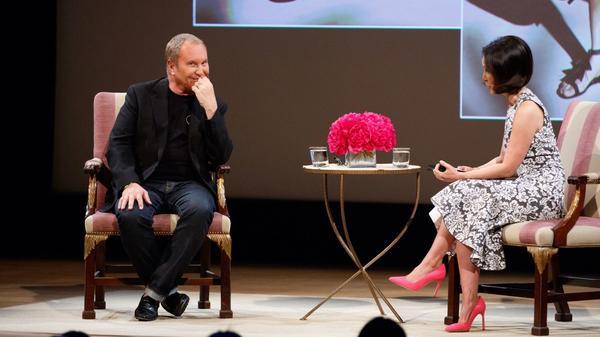 Michael Kors highlights 36-Year fashion career during Met talk