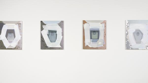 It's bathroom art: Joel Holmberg's toilet portraits