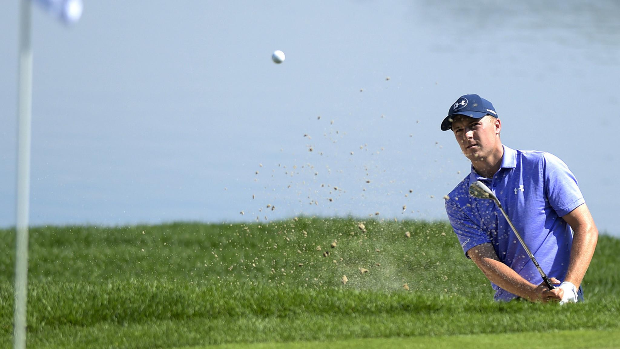 Golf roundup: Jordan Spieth retains lead at Travelers Championship