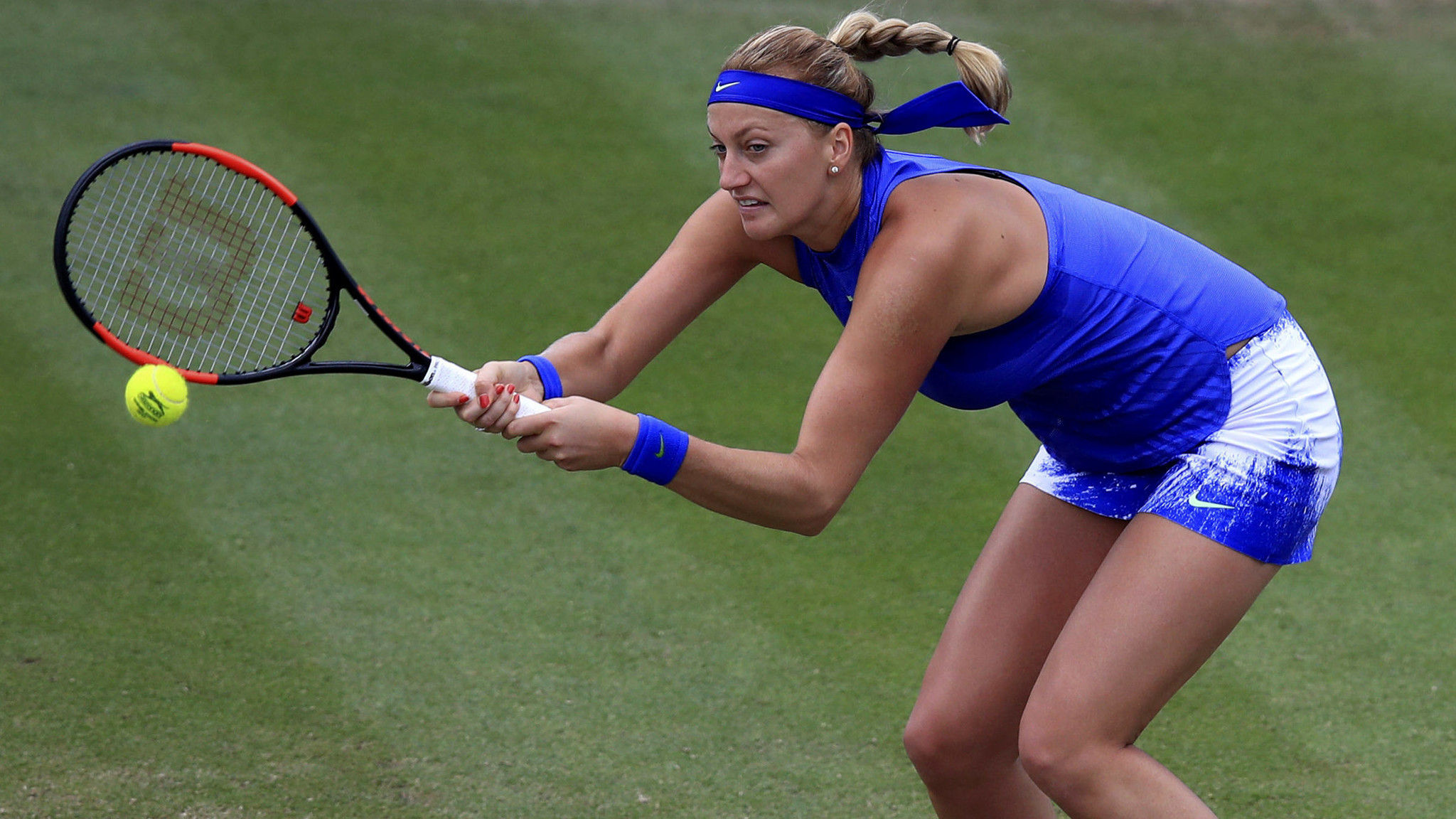 Tennis: Petra Kvitova reaches first final since her hand was injured during knife attack
