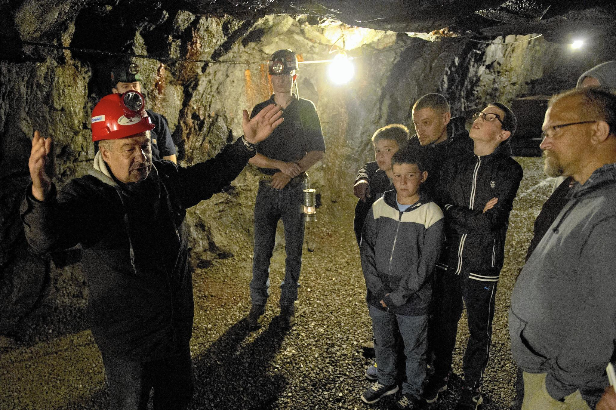 Coal mine tour is trip into region's past - The Morning Call Underground Mining Images