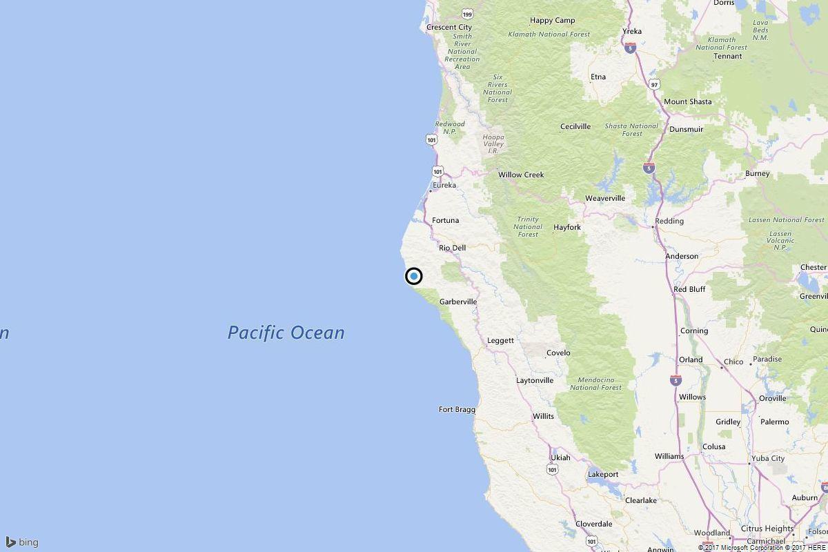 Earthquake: 4.2 quake strikes near Petrolia, Calif.