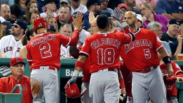 Angels hold off Red Sox for 6-3 victory