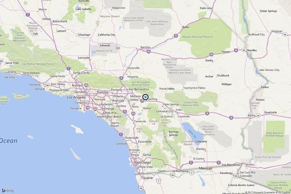 Earthquake: 3.5 quake strikes near Banning