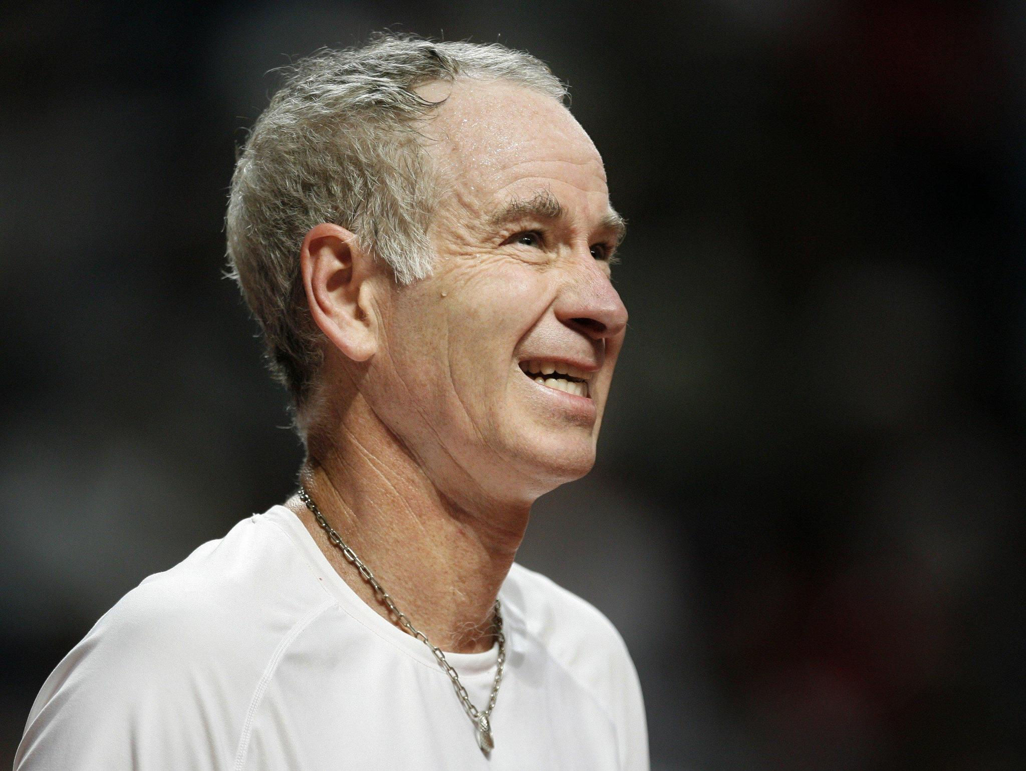 John McEnroe wants today s players to mad but not in way he