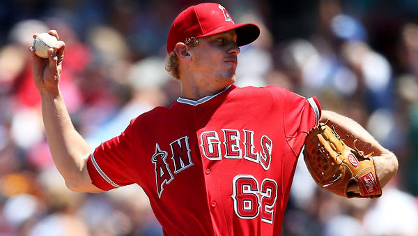 Parker Bridwell delivers for Angels in 4-2 victory over Red Sox