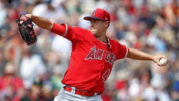Soreness delays return of Angels starter Tyler Skaggs