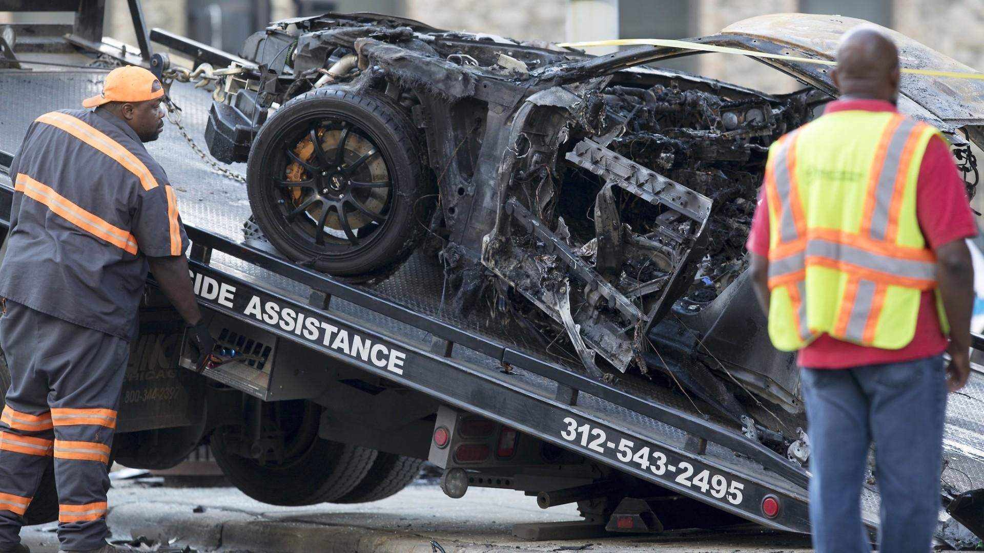 Ontario Street Chicago Car Crash