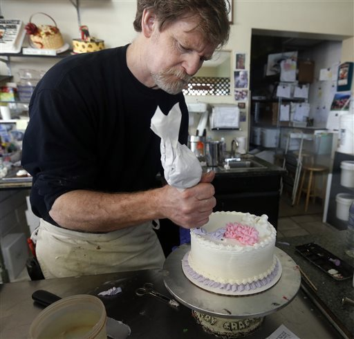A merchant refused to bake a cake for a same-sex couple due to religious beliefs. Supreme Court to rule on the case in fall.