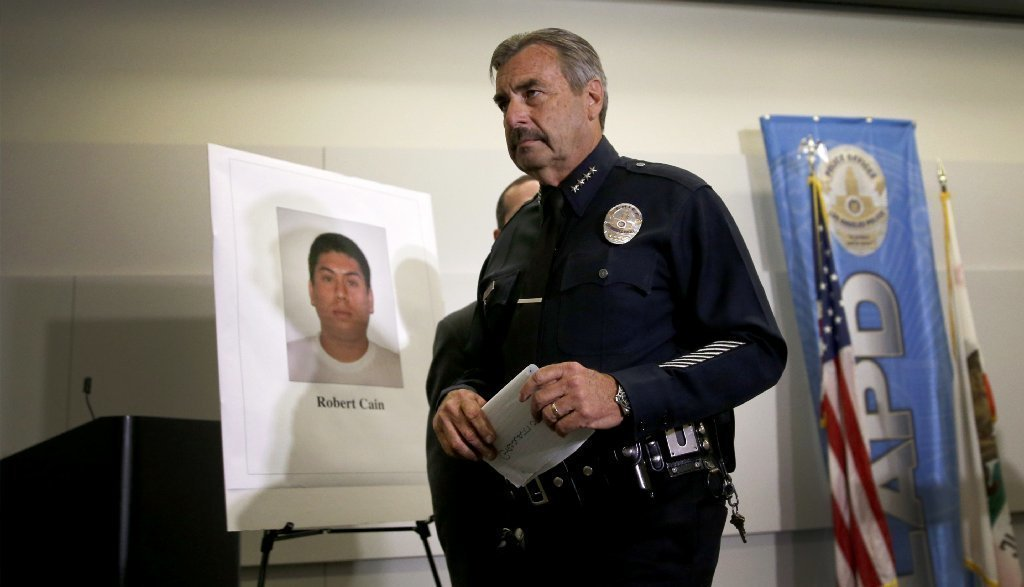 Nearly three dozen illegal weapons found in home of LAPD officer accused of unlawful sex with teen cadet, sources say