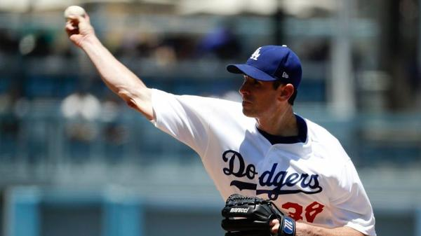 Dodgers put Brandon McCarthy on disabled list, recall Trayce Thompson