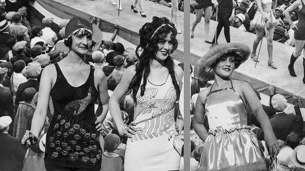 From the Archives: 1924 Redondo Beach swimsuit competition