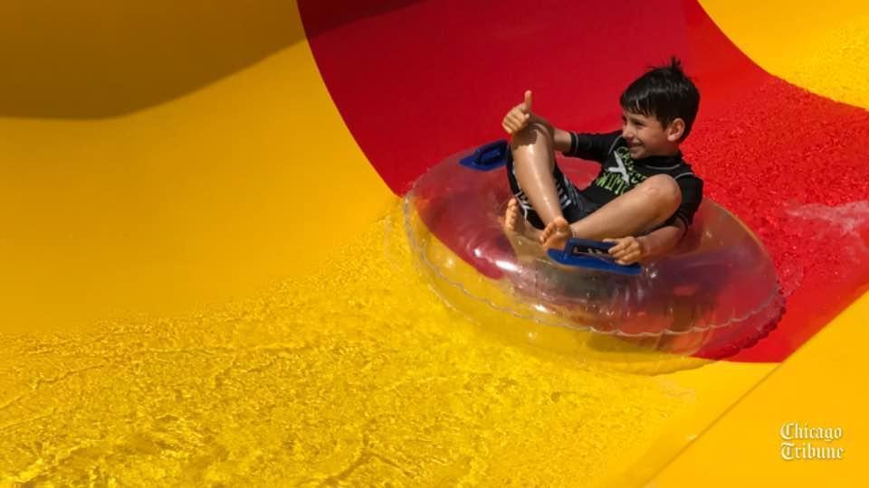 Inside Skokie Water Playground Skokie Review
