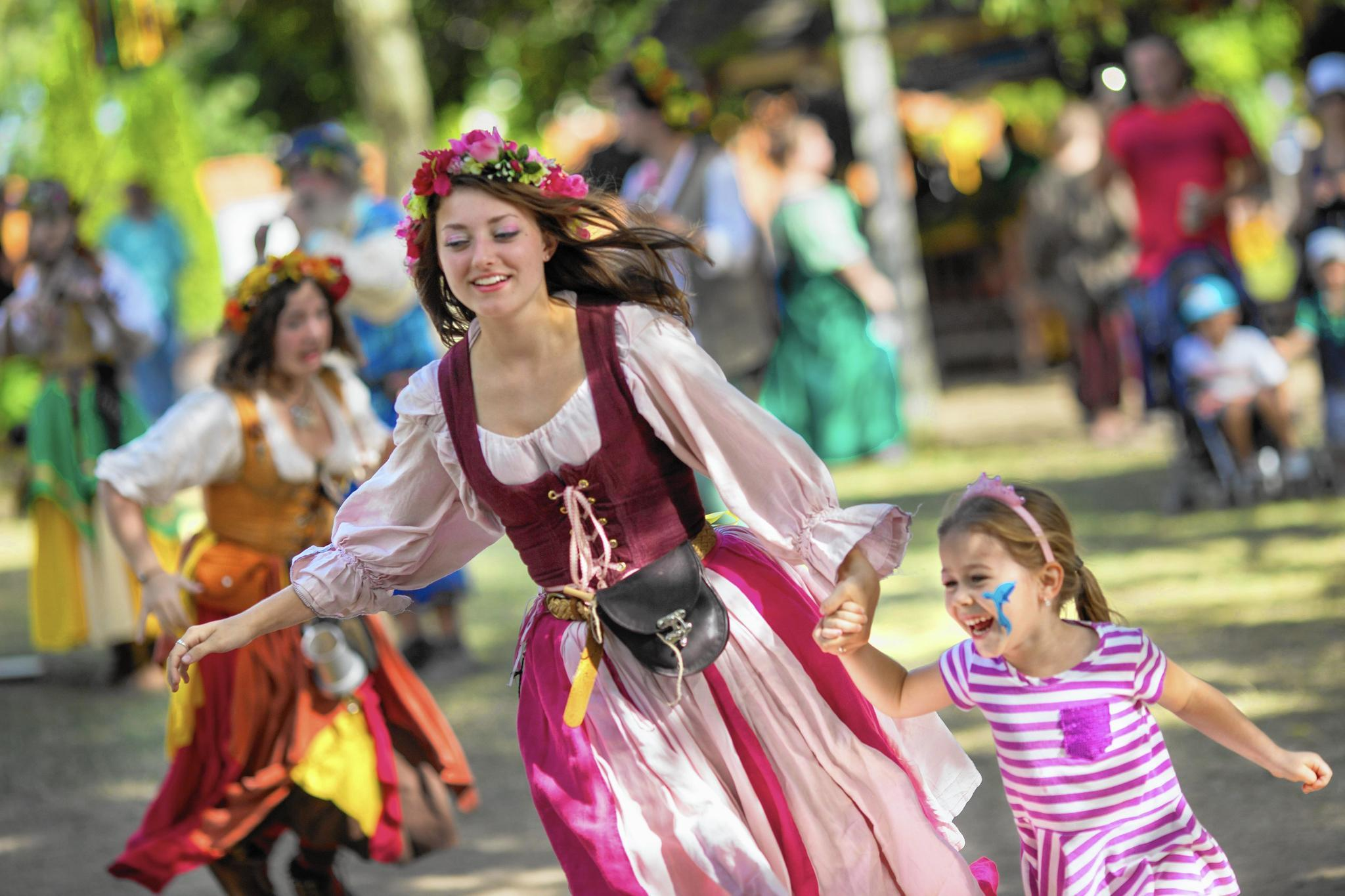 Faire marks 30 years with cosplay, jousting, RenQuest
