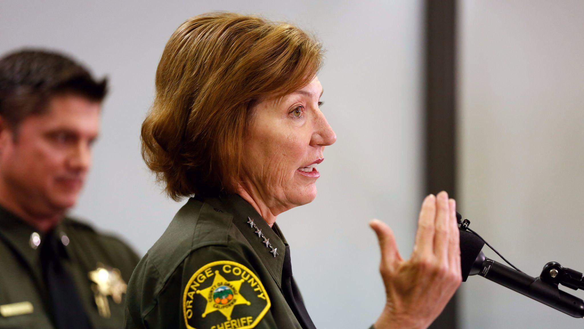 under fire  orange county sheriff sandra hutchens says she