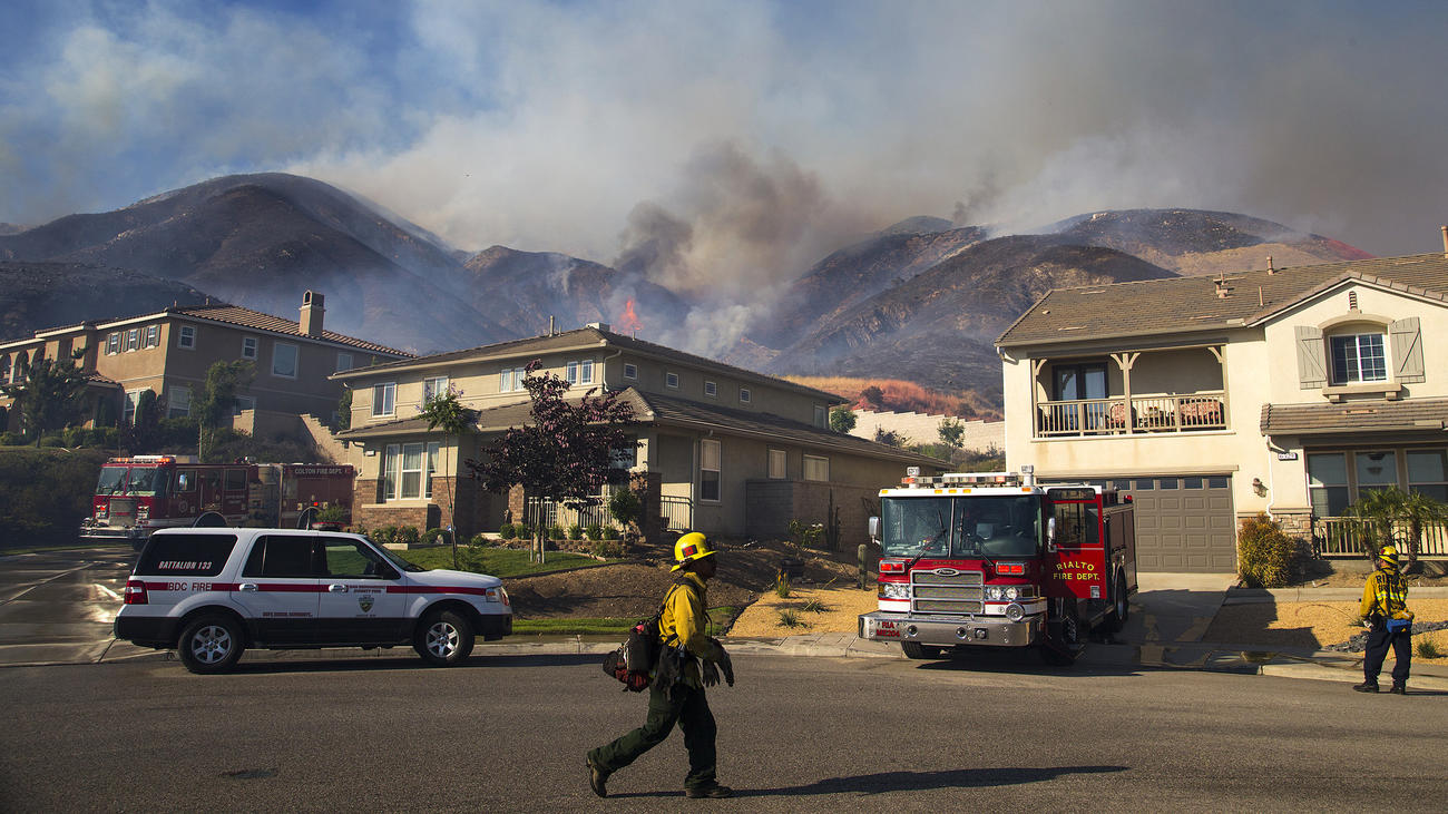 Manzanita Fire Grows To 5000 Acres In South California, Evacuation Warnings Issued