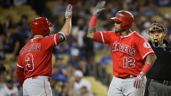 For the Angels, Tuesdays have been a magical day this season
