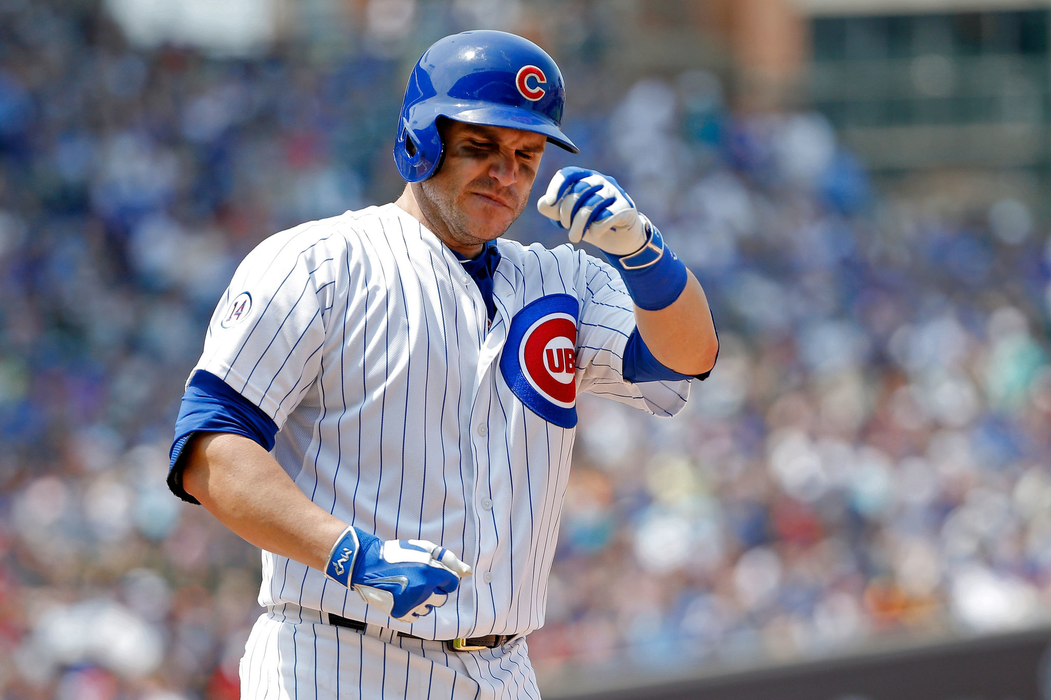 Cubs strike right tone in muting miguel montero for good - David montero ...