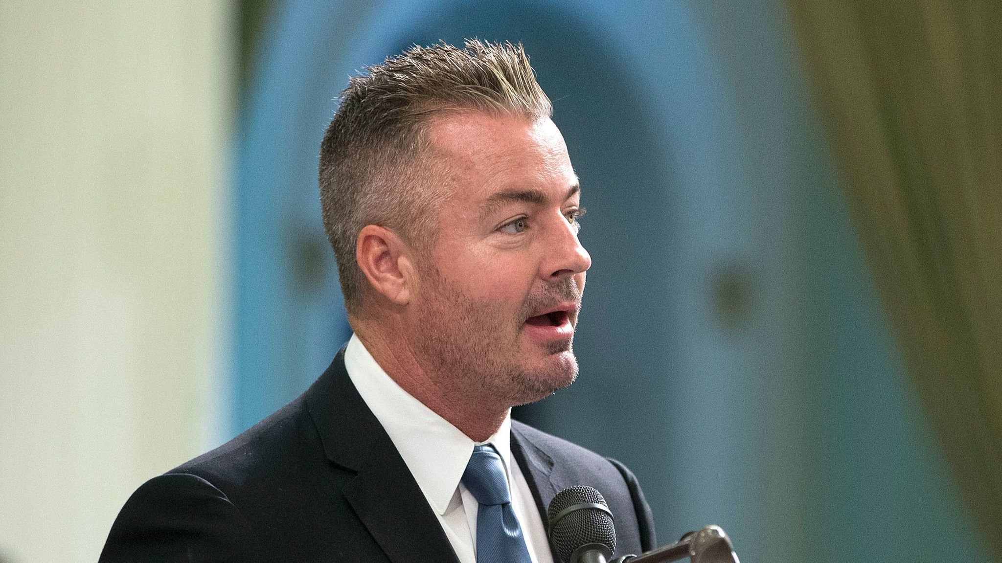 California Assemblyman Travis Allen (R-Huntington Beach) is a traditional GOP conservative and a staunch Trump supporter.
